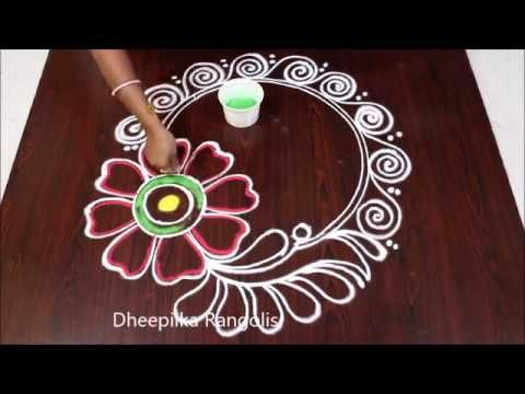 Happy New Year Rangoli Design Gallery 27
