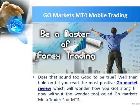 Mobile Trading With Mt4 Gomarkets Go Market Review Online