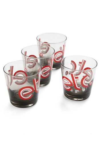 Vintage All That and More Glass Set