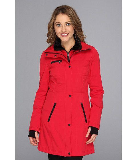 Jessica Simpson Soft Shell Jacket w/ Bib and Faux Fur