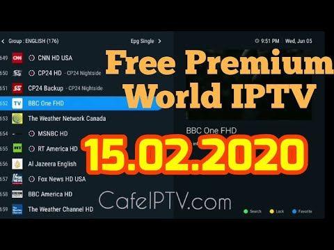 Free Premium World Iptv Links M3u Playlist 15 02 2020 Youtube Weather Network Canada Playlist Free Playlist