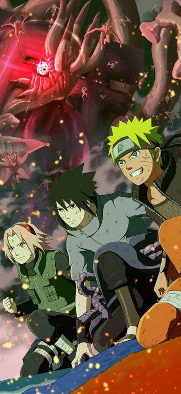 Team 7 Wallpaper Naruto Wallpaper Naruto Shippuden Naruto And Sasuke Wallpaper Naruto Sasuke Sakura