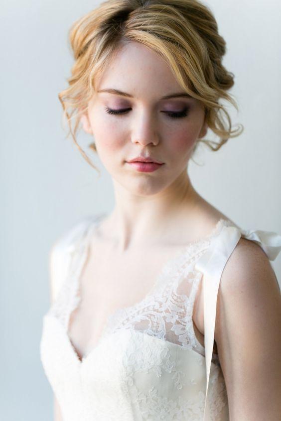 Romantic Bridal Makeup Ideas Brides, Wedding make up and ...