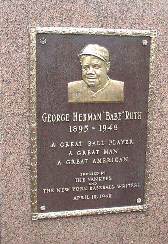 a biography of george herman ruth as an american hero in baseball He was the son of george herman ruth and kate schamberger and  breaking  career in baseball and for being a true american hero and role.