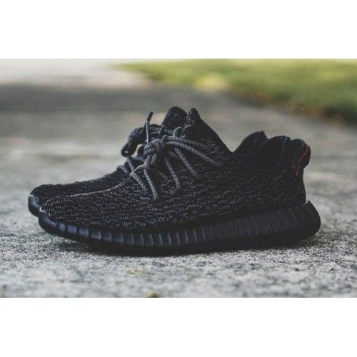 Adidas Yeezy 350 Boost Pirate Black Womens BlackMidnight Fog New Style