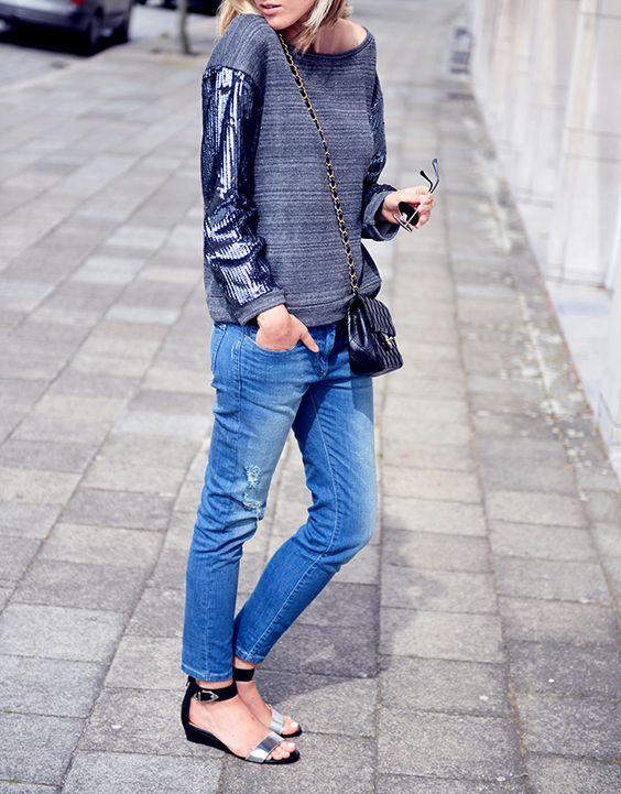 The Sequin sweater | FASHIONATA