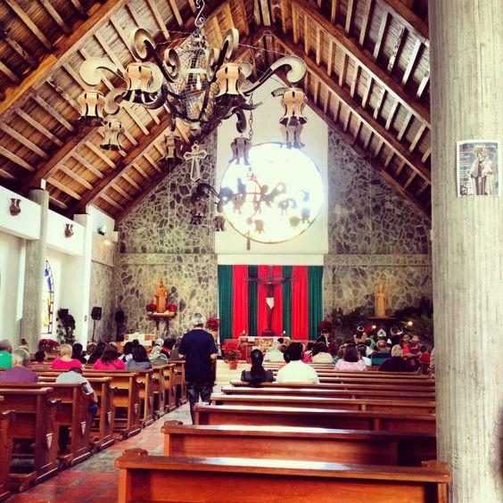 Iglesia de la Colonia Tovar. Estado Aragua.