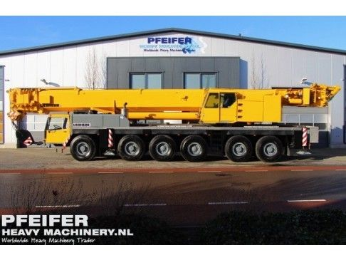 Used telescopic crane available at Pfeifer Heavy Machinery. Item Number PHM-Id 06679, Manufacturer LIEBHERR, Model LTM1225, Year of construction 2000, Kilometers 98229, Hours carrier 4630, Hours superstructure 12958, Loading (lifting) capacity (kg) 225000, Boom length maximum (m) 60, Fuel Diesel. See more at www.pfeiferheavymachinery.com.