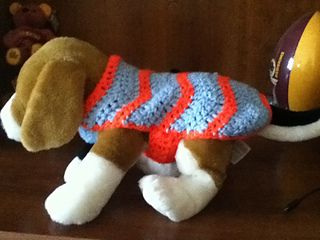 Free Crochet Patterns For Very Small Dogs : The Small Dog Ripple Sweater. Free Crochet Pattern Free ...