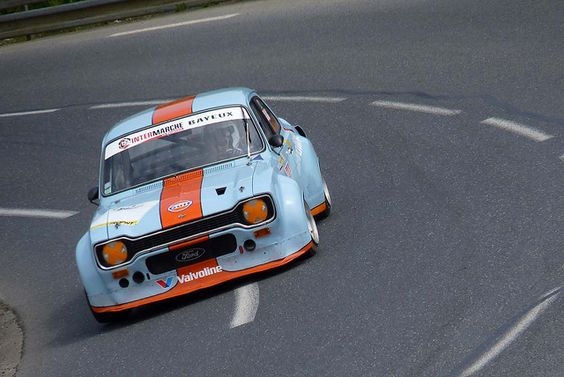 FORD ESCORT RS2000 MKI GULF. Our featured car on in2motorsports.com 18/12/2013
