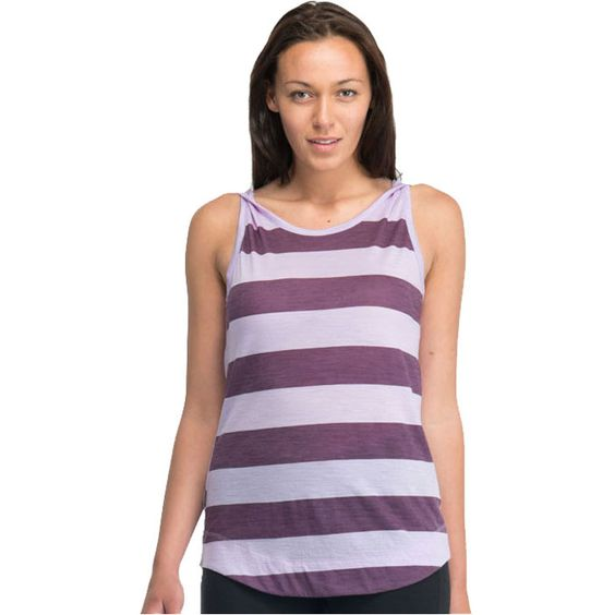 Striking Willow with colour blocking stripes on the front is a comfortably cool top with a feminine low back and stylish strap twist at the shoulders. ON SALE - up to 36% Off $44.95 #OrganicClothing #Rockcreek