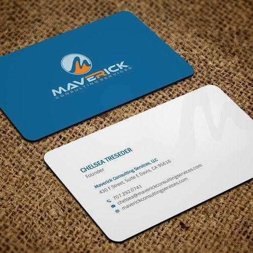 Maverick Consulting Services Business Card Envelope We Offer Marketing And Business Consulting Serv Business Card Design Custom Business Cards Business Cards
