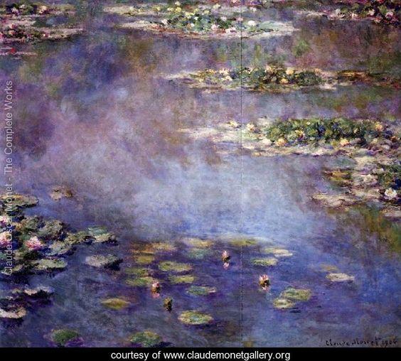 Water Lilies46 - Claude Oscar Monet - www.claudemonetgallery.org