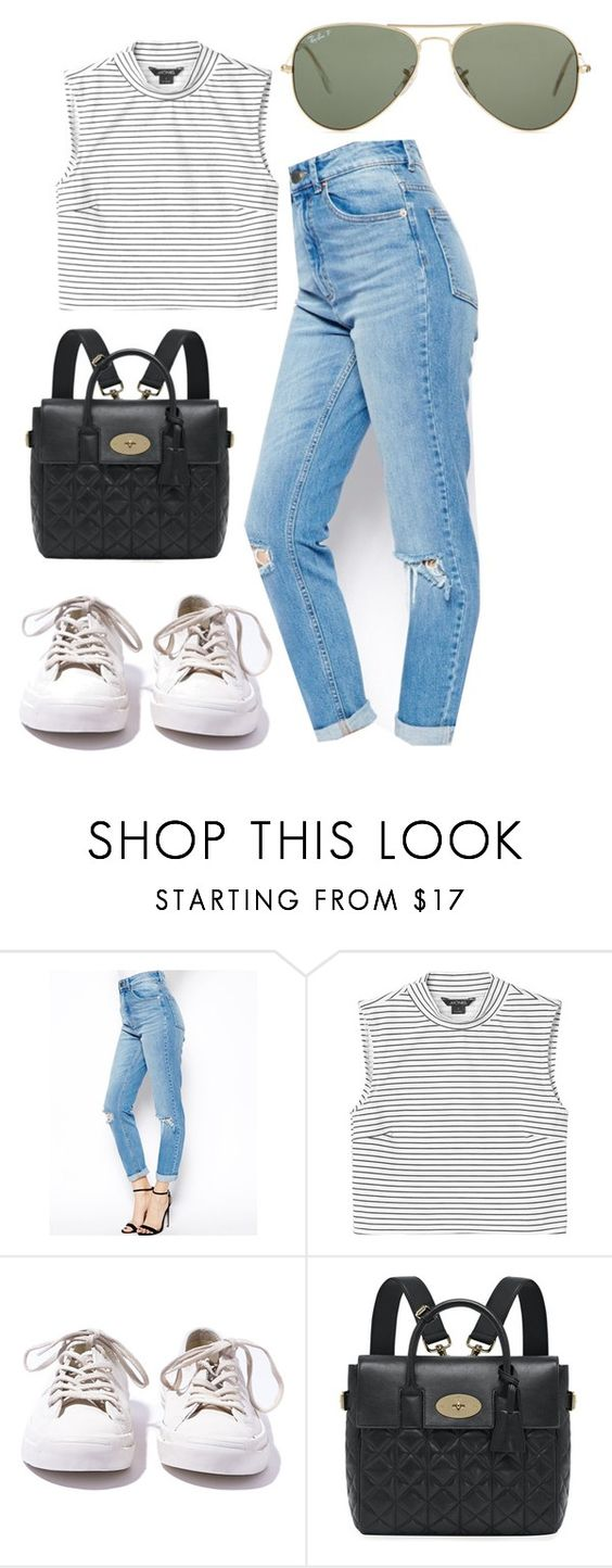 """Sin título #314"" by camifpl21 ❤ liked on Polyvore featuring ASOS, Monki, Converse, Mulberry, Ray-Ban, selenagomez, CaraDelevingne, kendalljenner, louteasdale and gemmastyles"