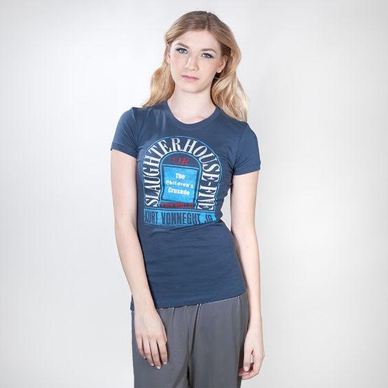 Slaughterhouse-Five womens literary t-shirt | Outofprintclothing.com