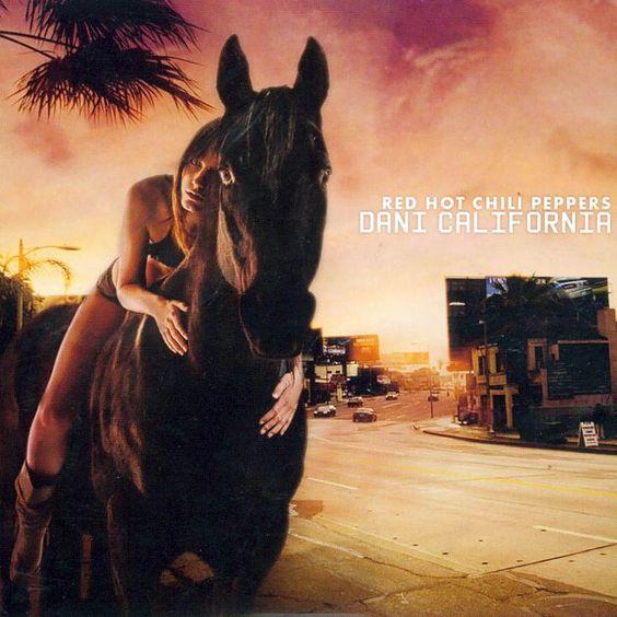 Red Hot Chili Peppers – Dani California (single cover art)