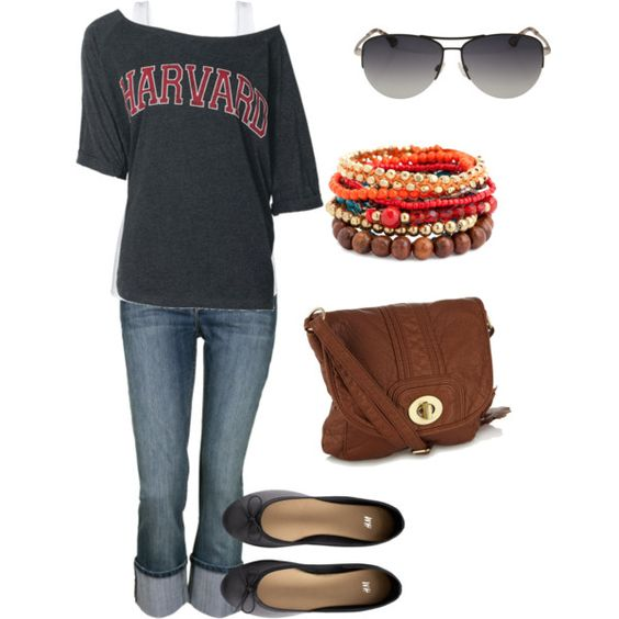 Casual weekend outfit.