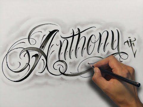 Tatuajes Nombres Letras Cursivas