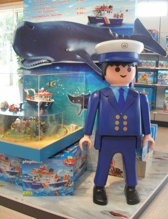 Playmobil géant - Homme commandant de bord - 2005 - Boîte 4472