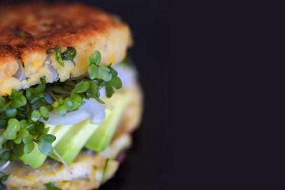 Ultimate Veggie Burger by 101cookbooks: http://preview.tinyurl.com/18r  #Veggie_Burger #101cookbooks