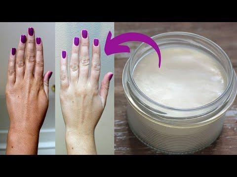 تبيض اليدين فورا في 5 دقائق وازاله سواد المفاصل وتطويل الاظافر النتيجة في الفيديو امامك Youtube