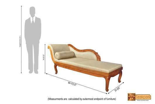 Maurya Teak Wood Diwan Cot Teak Wood Teak Wood Furniture Furniture