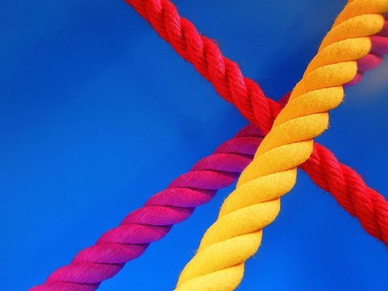 Colorful ropes / tanakawho