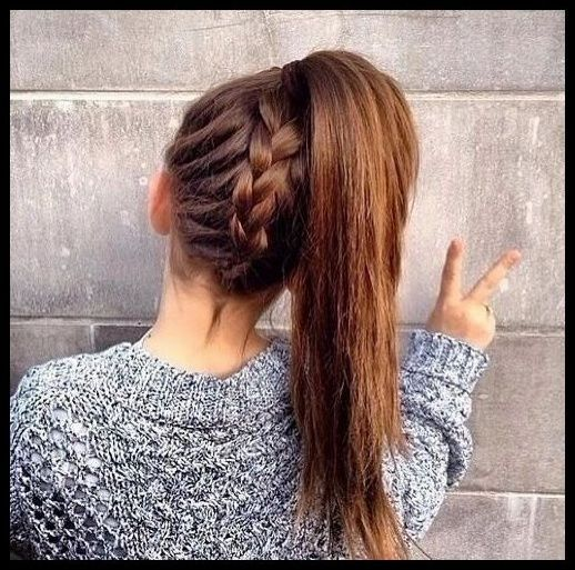 Hair Style Girl 2016 2016 Hairstyles For Girls New Haircuts For Girls 2016 Braided Ponytail Hairstyles Easy Hairstyles Girls Hairstyles Easy