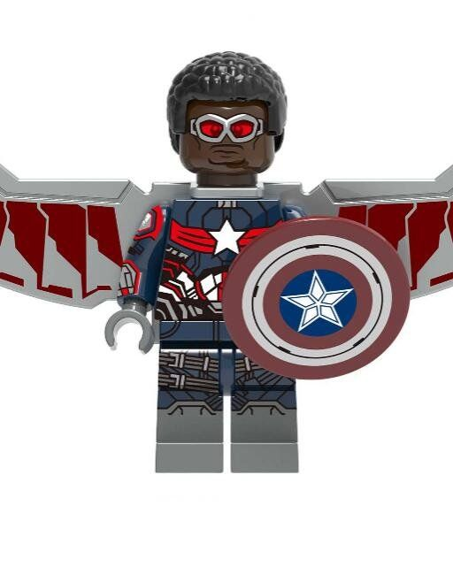 Falcon NEW Marvel Minifigure FREE US Tracked Shipping