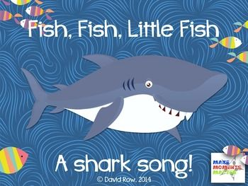 Fish fish little fish song for introducing la do and for Little fish song