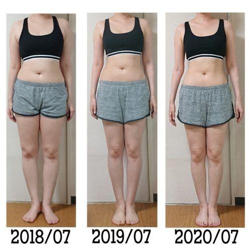 2年間食事記録を続けたら 10キロに 骨格ストレート 2020 骨格ストレート 骨格 運動