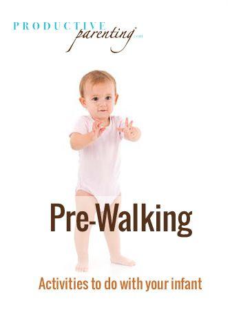 Productive Parenting Preschool Activities Pre Walking