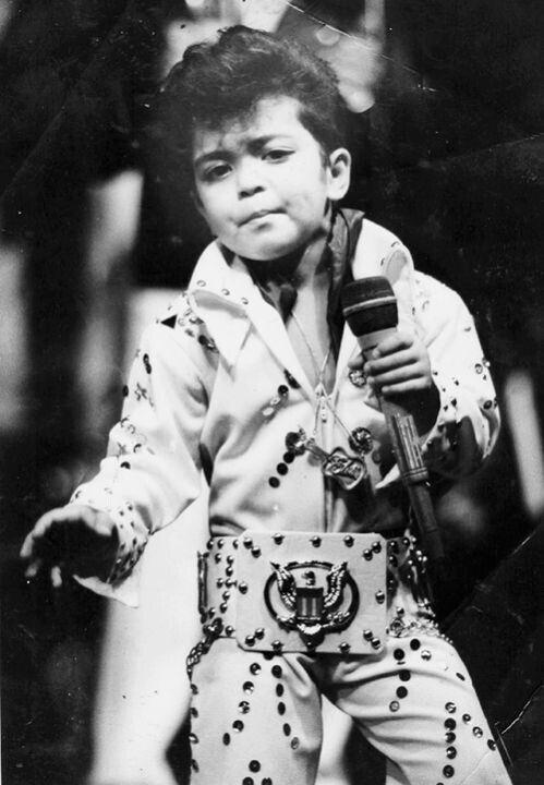Bruno Mars Baby Pictures