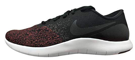 Nike Men S Flex Contact Running Shoe Black Black Dark Team Red White 10 Running Athletic Shoe Running Shoes For Men Black Running Shoes Running Shoes Nike