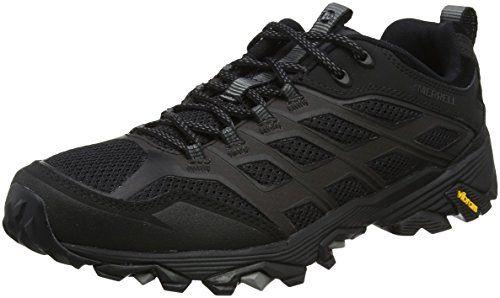 all black merrell shoes