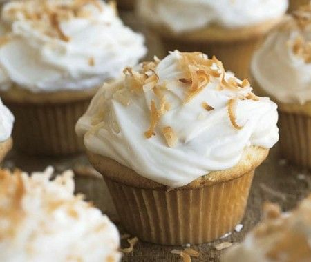Coconut Cupcakes Recipe | from Rick Rodgers' Comfort Food cookbook | House & Home