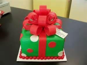 Gift Box Cake Christmas
