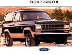 1988 Ford Bronco II Sales Brochure