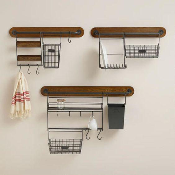 Modular Kitchen Wall Storage Collection