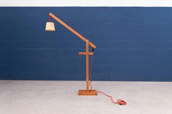 Doppio floor lamp  - www.cazzacriativa.com