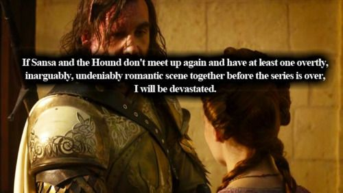Sansa & The Hound // Game of Thrones | [ Game of Thrones ...