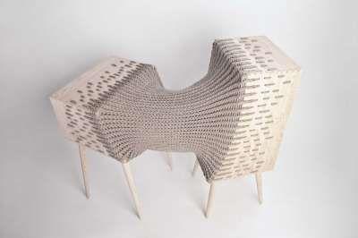 Hybrid Furniture by Kata Monus Breaks Storage Design Boundaries #homedecor