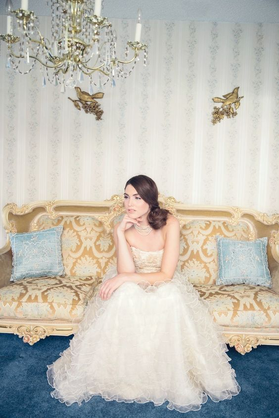 #wedding #dress #lace  Photography: Jennifer Fujikawa - jenfujphotography.com/  Read More: http://www.stylemepretty.com/destination-weddings/2014/08/26/romantic-bridal-inspiration-full-of-lace/