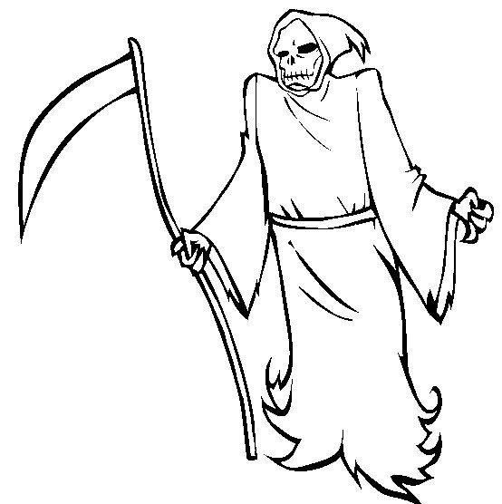 Halloween Grim Reaper Coloring Pages Free Grim Reaper Coloring Pages Green Goblin Spiderman