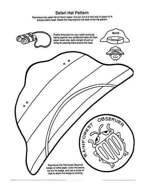 Image Result For Preschool Zoo Keeper Clip Art Safari Crafts Jungle Theme Classroom Safari Hat