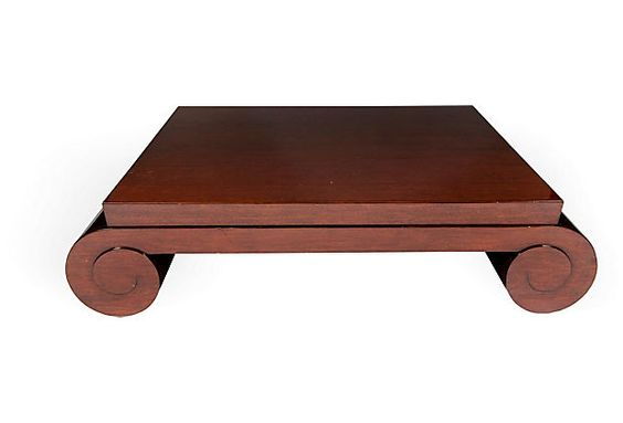 Ralph Lauren Brook Street Coffee Table. Saw this in store. This coffee table. is... EVERYTHING.
