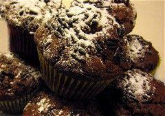 Vegane Schokomuffins : Muffin Rezepte