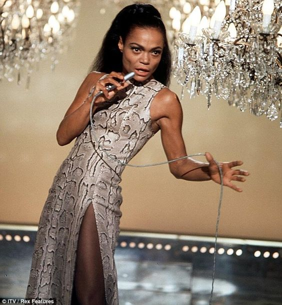 Eartha Kitt's desperate search for her white father: Daughter reveals how 'Santa Baby' singer cried when she saw his name had been crossed o...