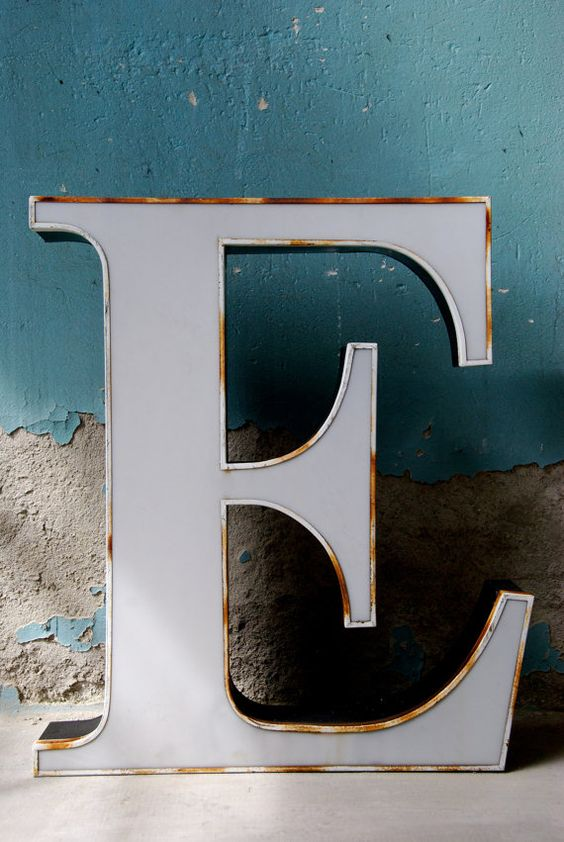 original vintage marquee letters from pelliconi sign