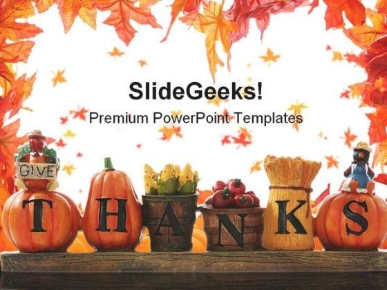Free Thanksgiving Powerpoint Templates Thanksgiving Ppt